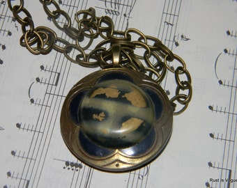 The World Spins Madly On...Necklace