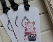 French Bergere Chair Gift Tags