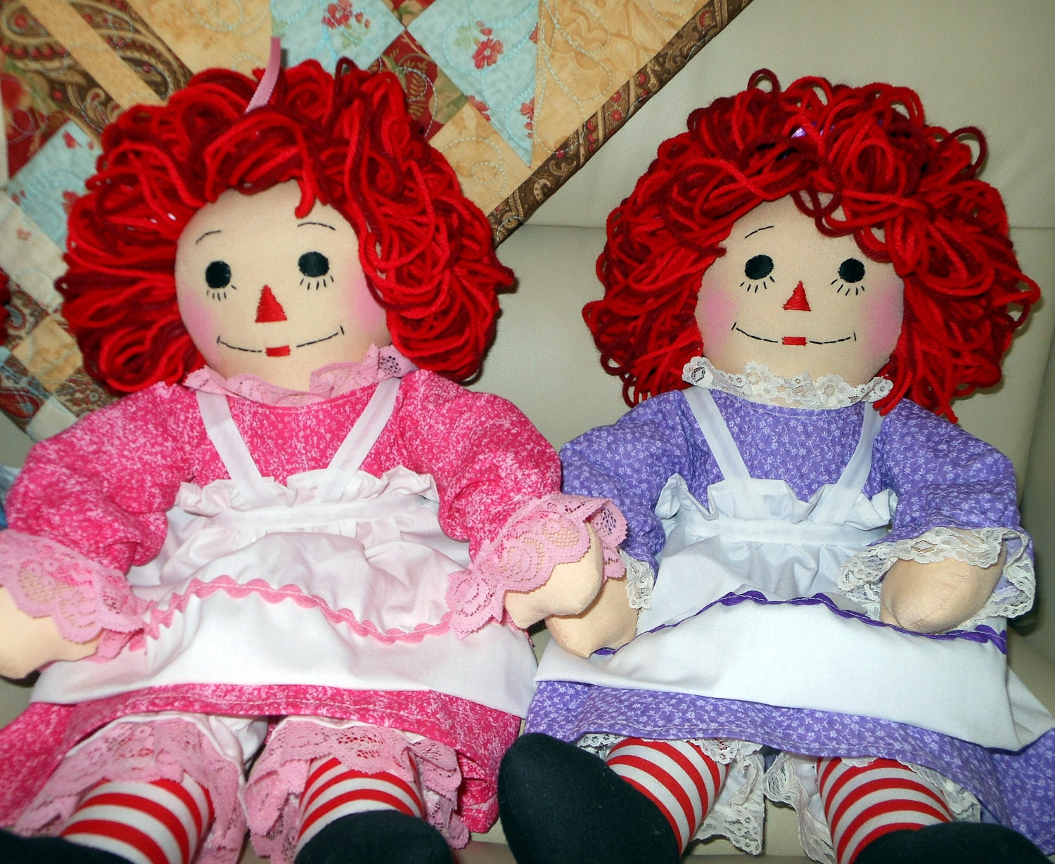 20 inch raggedy ann or andy doll handmade custom order