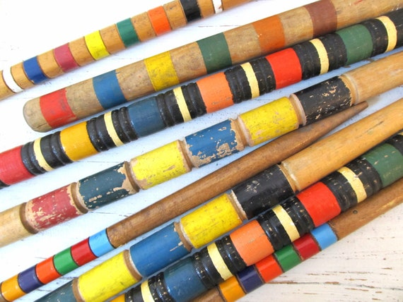 One Croquet Stake