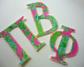 4 Sets of Pi Beta Phi Iron On Letters