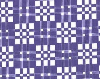 Good Morning by Me and My Sister - Plaid & Proud in Positively Purple (22183 13) - 1 yard