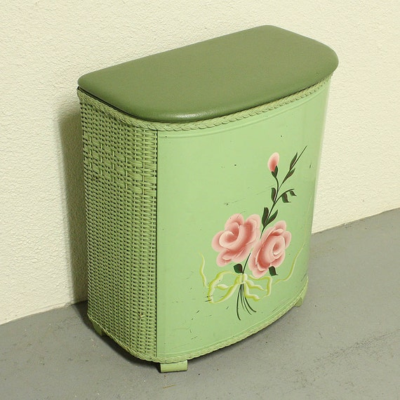 Vintage Clothes Hamper Laundry Hamper Laundry Basket