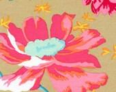 Rustic Floral/Kiwi by Kaffe Fassett - One Half Yard