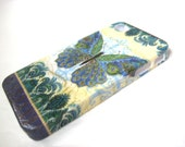 Peacock Feather Buttlerfly Damask iPhone 3, 4/4S, 5/5S, 5C, 6 or iPod Touch Case