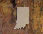 """5 Deburred 18G Aluminum 7/8"""" X 1 1/4"""" INDIANA Stamping Blanks"""