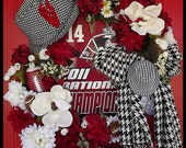 University of Alabama Wreath, Collegiate Wreath, FREE US SHIPPING