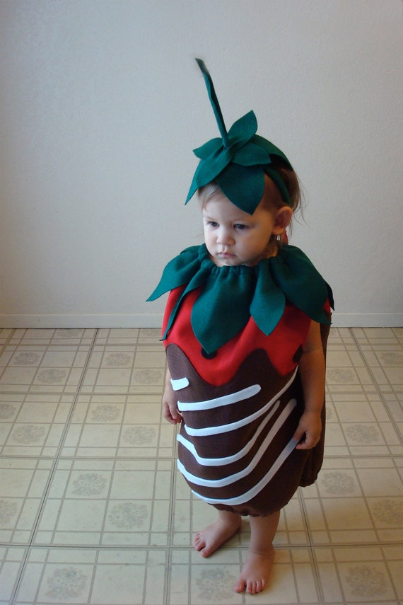 Chocolate Covered Strawberry Costume
