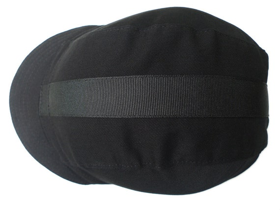 Cycling Cap for Stealth Biking - Black with Black Ribbon