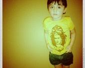 frida kahlo cameo toddler shirt