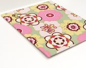 Wall Mount Magnet Board 16 inch x 20 inch No Frame - Pastel Kleo Fabric
