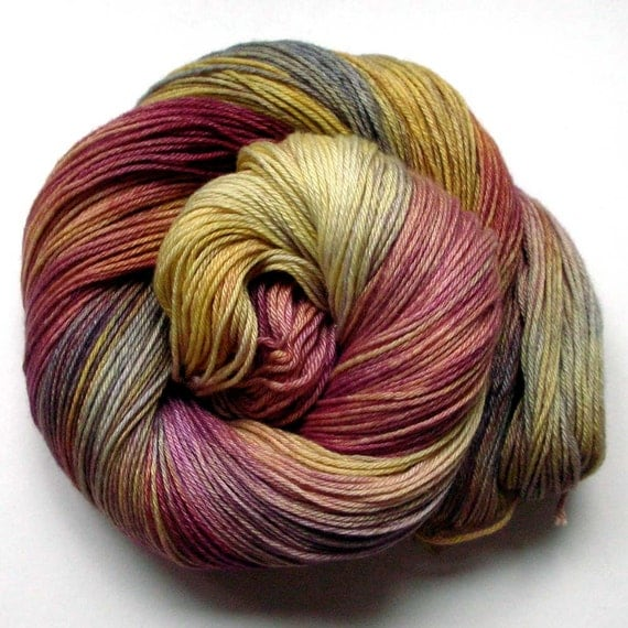 Pure Cashmere Fingering Yarn - Rocky Mountain Wildflower, 370 yards FREE SHIPPING