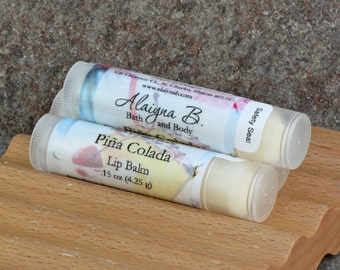 Pineapple Pina Colada Lip Balm with Cocoa Butter