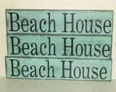 BEACH HOUSE SIGN / beach house decor / beach house / beach cottage / hand painted sign / beach themed sign / beach sign / beach welcome sign