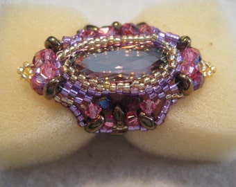 D. Ede Ring Pattern by Vezsuzsi Beadwork by ME