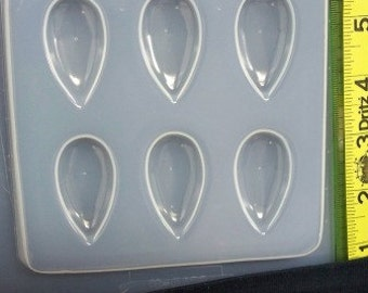 Teardrop resin jewelry mold 422