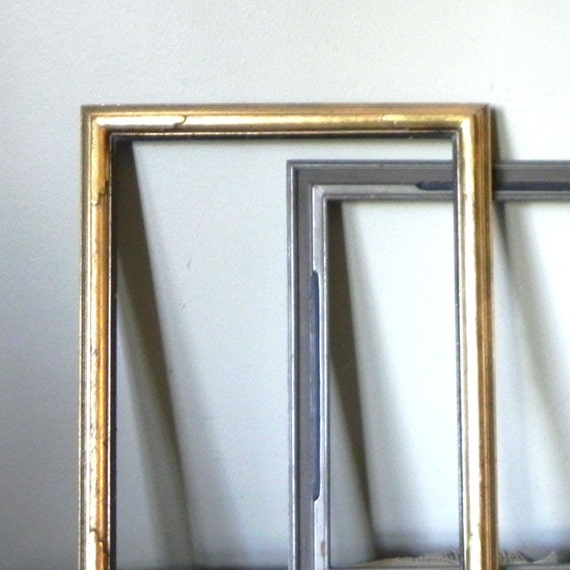 Pair vintage Art Deco frames