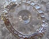 Germany Deeply Embossed Silver Paper Foil Large Dresden Frame