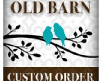 Custom Order DESIGN FEE  - see description for addtional information***
