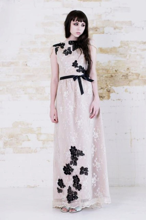 climbing floral gown