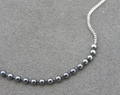 Silver Necklace- Silver Lining