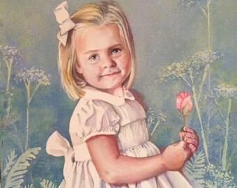 """16x20"""" Watercolor Portrait"""