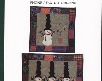 Tall Hat Snowmen by Little Country Quilts (D-053)