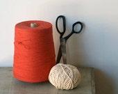 Large Spool of Vintage Red String, Vintage Supplies and Crafting, DIY, Packaging