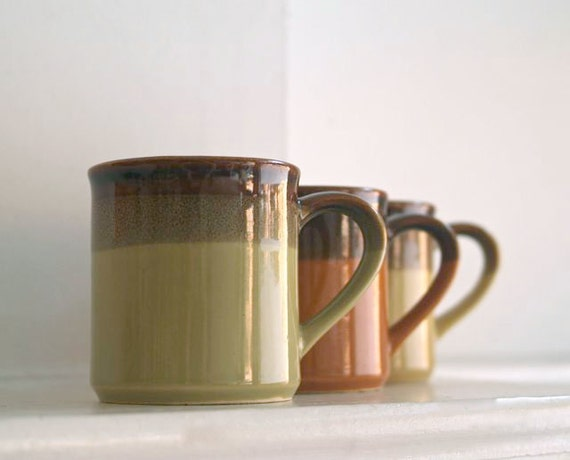 Vintage Autumn Mug Collection