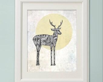 Oh Deer I Love You - Fine Art Print