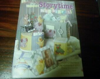 Baby Plastic Canvas Patterns Storytime Nursery 1 Needlecraft Shop 923805 Pattern Leaflet