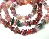 """Great Deal- Very Unqiue Beautiful Multi Color Spinel Chips --17.5 """""""