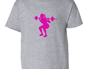 Weight lifter toddler t-shirt - MORE COLORS AVAILABLE