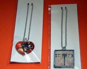 100 Cello Protective Necklace Sleeves 2.50 x 7.125