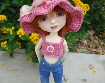 Lollipop Hat and Top/Cami/Tank Set