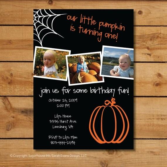 Items Similar To Babys First Birthday Invitations