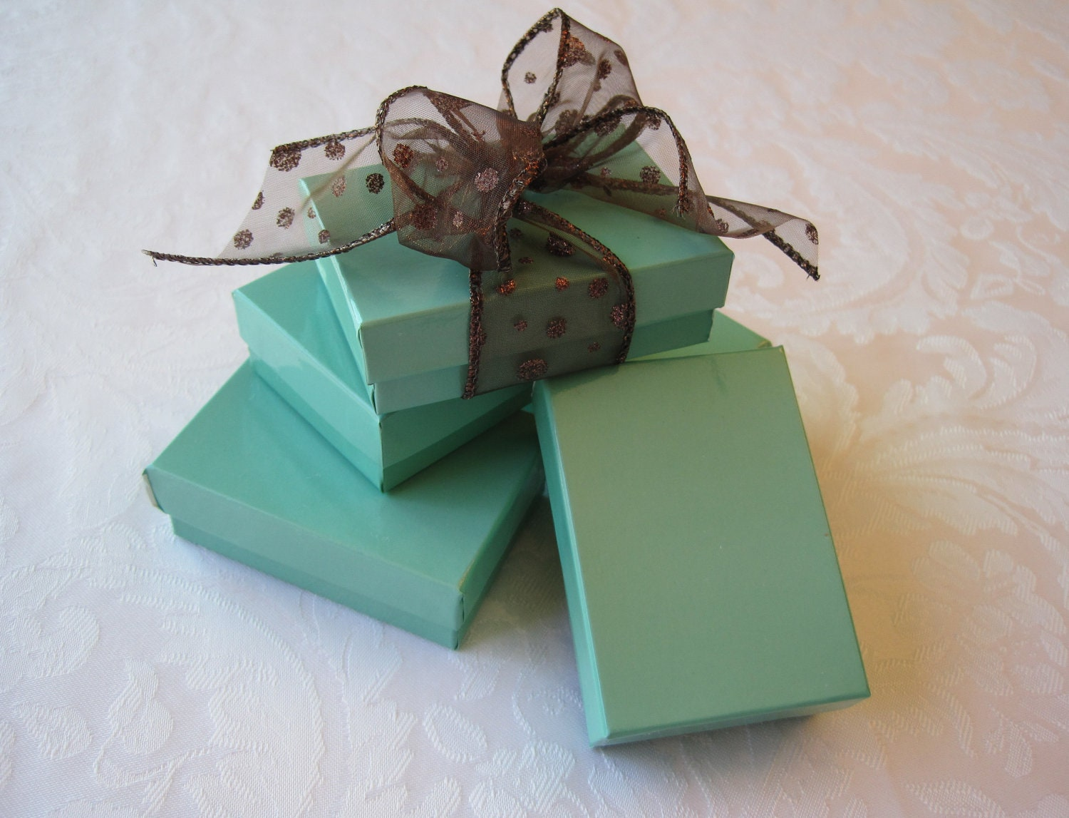 10 Gift Boxes Jewelry Gift Box Kraft Boxes Wedding Favor