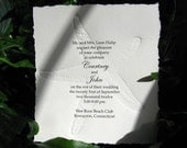 Starfish Invitation-perfect for Beach Wedding or Bridal Shower