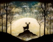Isle of the Floating Moon Print - andykehoe