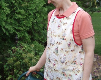 Pattern-Pillowcase Pinnie Apron, adult size M-XL, PDF format-Instant Download