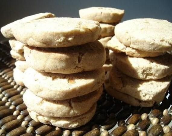 Great Grandma's Icebox Cookies - with WALNUT pieces - THREE DOZEN (36 cookies)