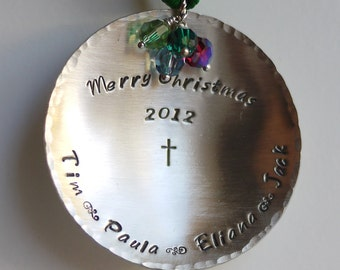 Personalized Christmas Ornament by I Heart This