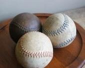 Vintage Leather Softballs