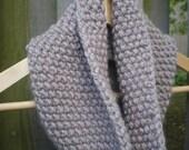 Seed Stitch Winter Cowl Knitting Pattern, PDF Pattern, Knit Cowl Pattern, Circular Scarf Pattern