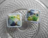 Spring Landscape - Handcrafted Lampwork glass beads