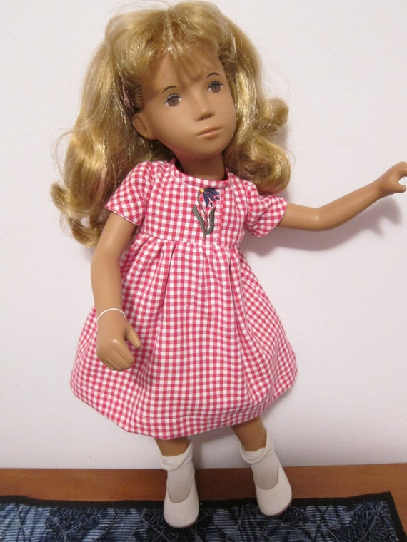 Simply Sasha Checked Cotton Dress