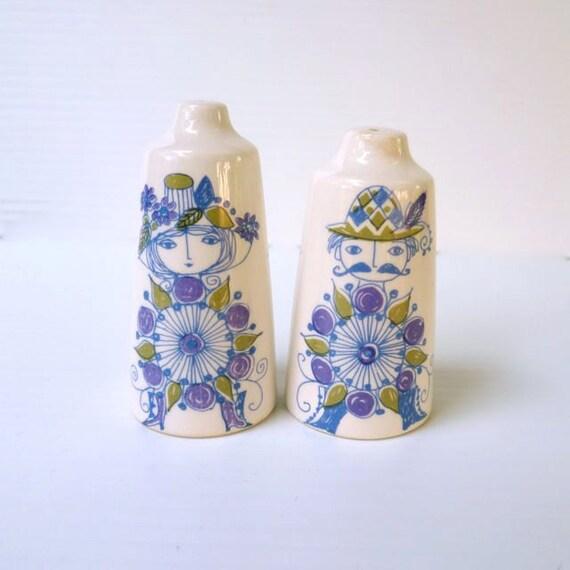 Salt And Pepper Shakers Turi Design Lotte Figgjo Flint Norway
