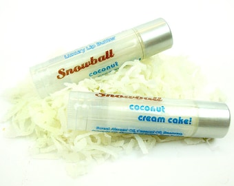 Snowball - coconut cream cake - Shea Lip Butter