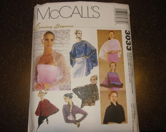 McCall's evening cover-up pattern