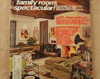 November 1972 Issue of House Beautiful Magazine